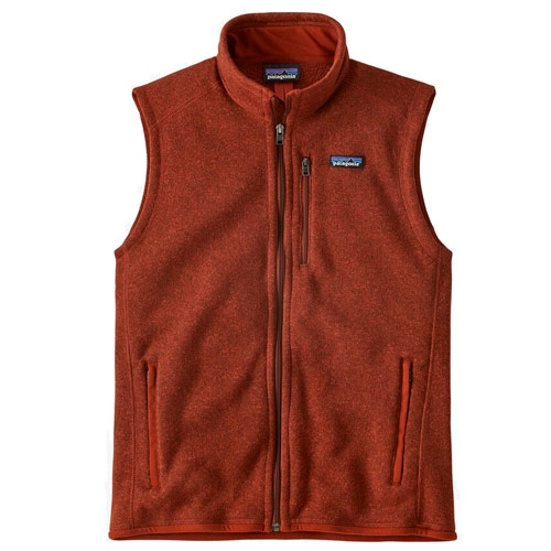 Patagonia Better Sweater Fleece Vest Red
