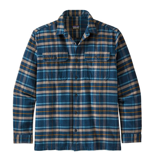 Patagonia Fjord Flannel Shirt New Navy
