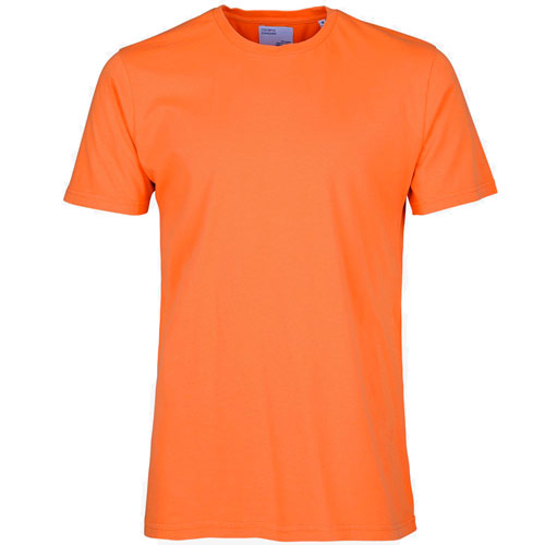 Colorful Standard Classic Tee Shirt Orange