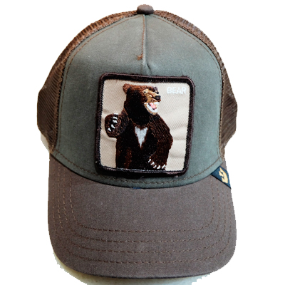Goorin Cap Bear Brown