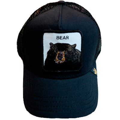 Goorin Black Bear Black