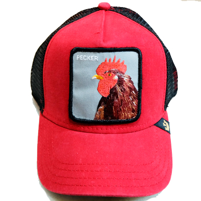 Goorin Cap Pecker Red