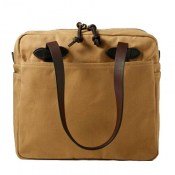 Filson Tote Bag Zipper Tan