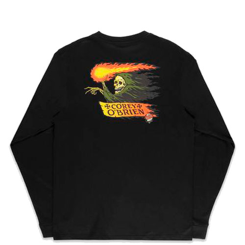 Santa Cruz Tee O´Brien Reaper LS Black